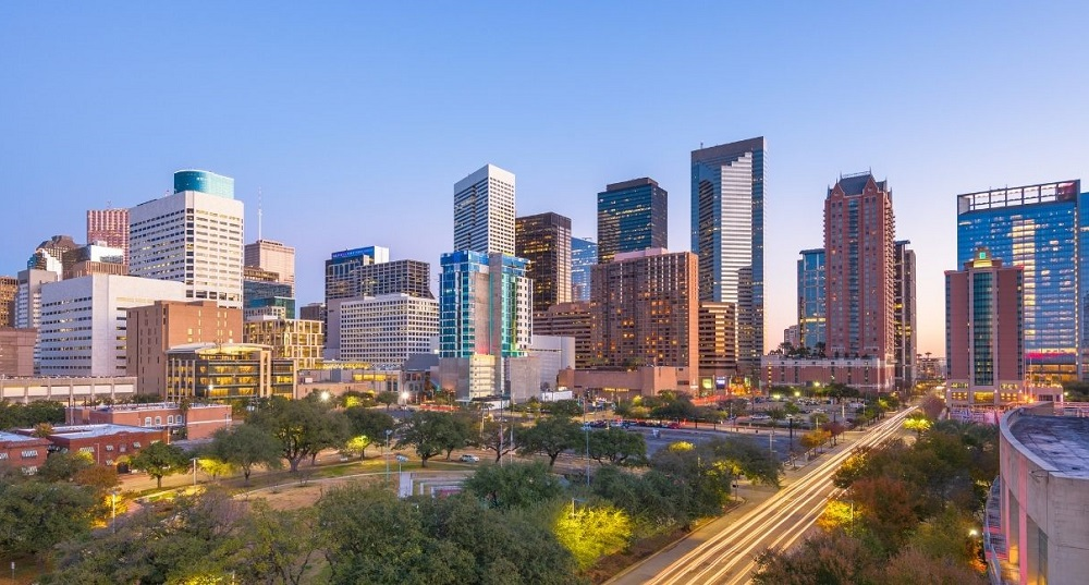 Houston Virtual Office Plans   CloudVO City Guide